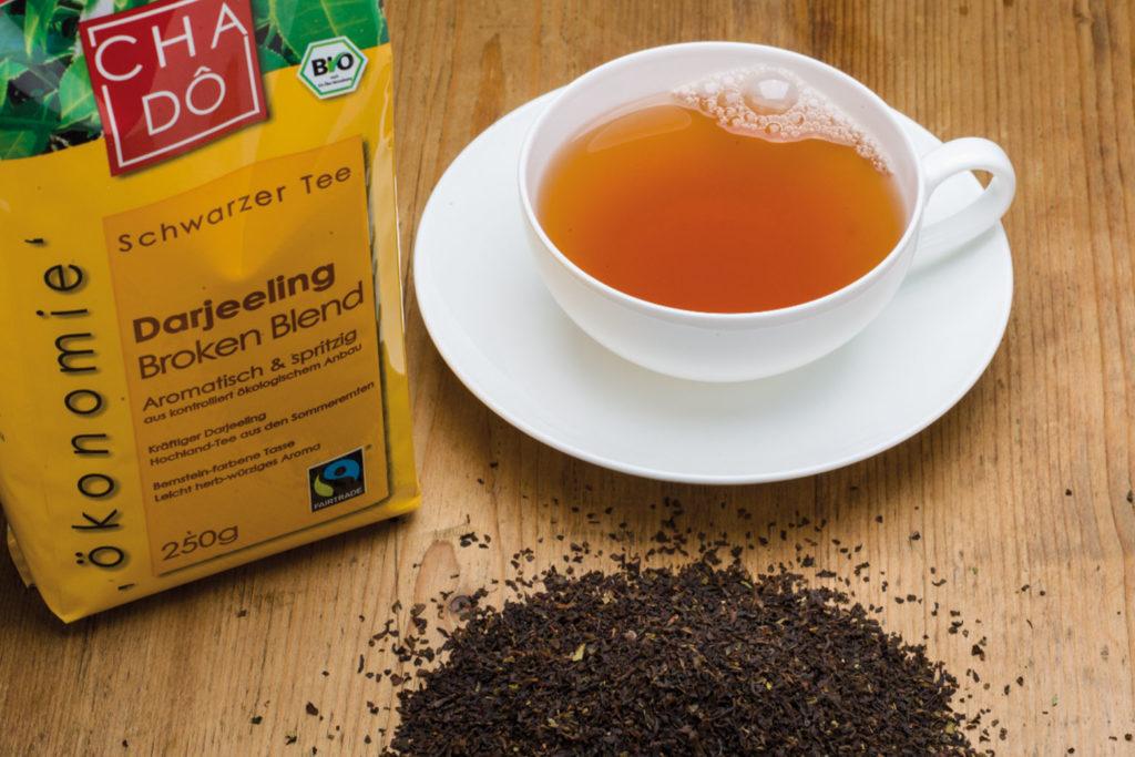 Ökonomie Darjeeling Tee